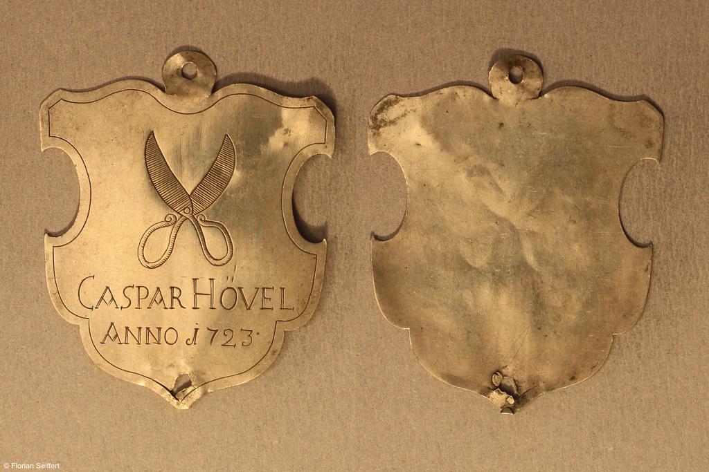 Koenigsschild Flittard von hoevel caspar aus dem Jahr 1723