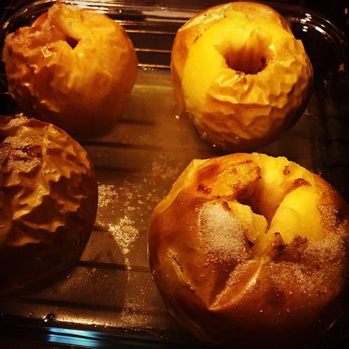 Recetas de postres con manzanas para un menú vegetariano por Navidad
