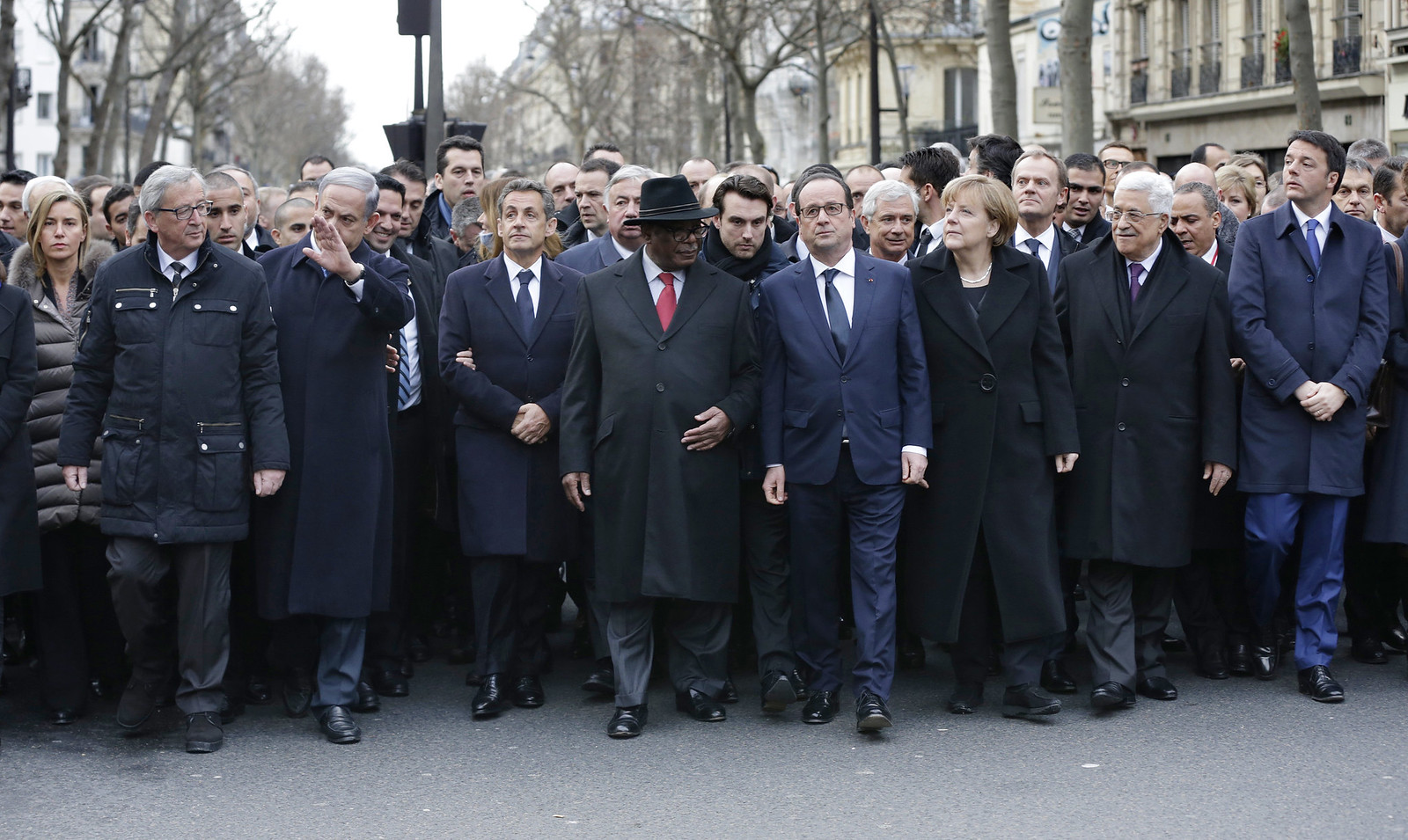 Silent March through Paris in pictures | by European External Action Service - EEAS