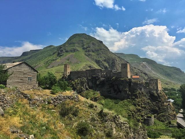 Fortaleza de Khertvisi en Georgia