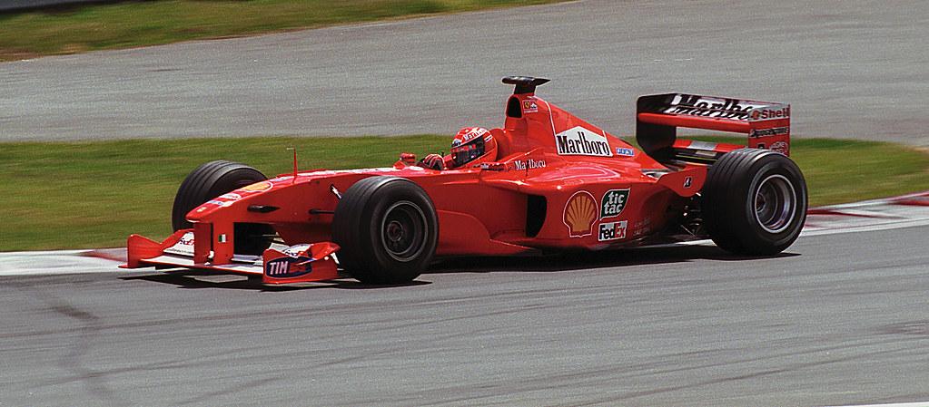 Michael Schumacher Ferrari F1-2000 Canada 2000 2 ...