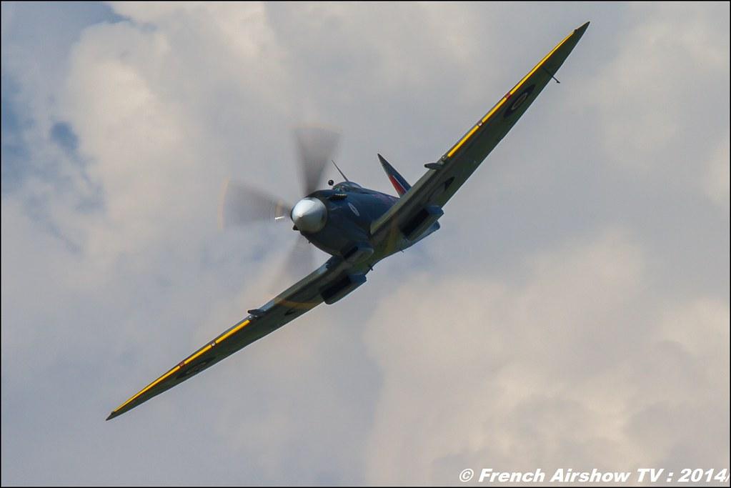 SPITFIRE LF MKXVIE Spitfire TE184 AIR14 Payerne 2014 Canon Sigma France contemporary lens