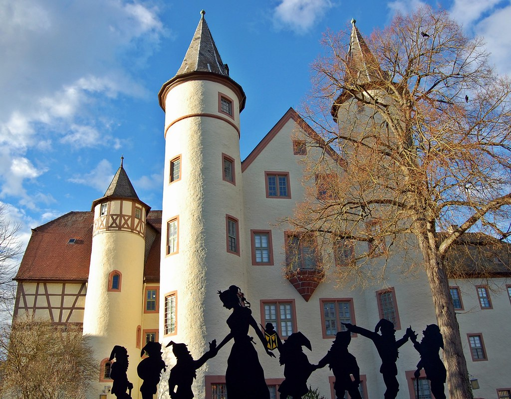 Schneewittchen stadt lohr am main blick licht doris for Heimbach lohr am main