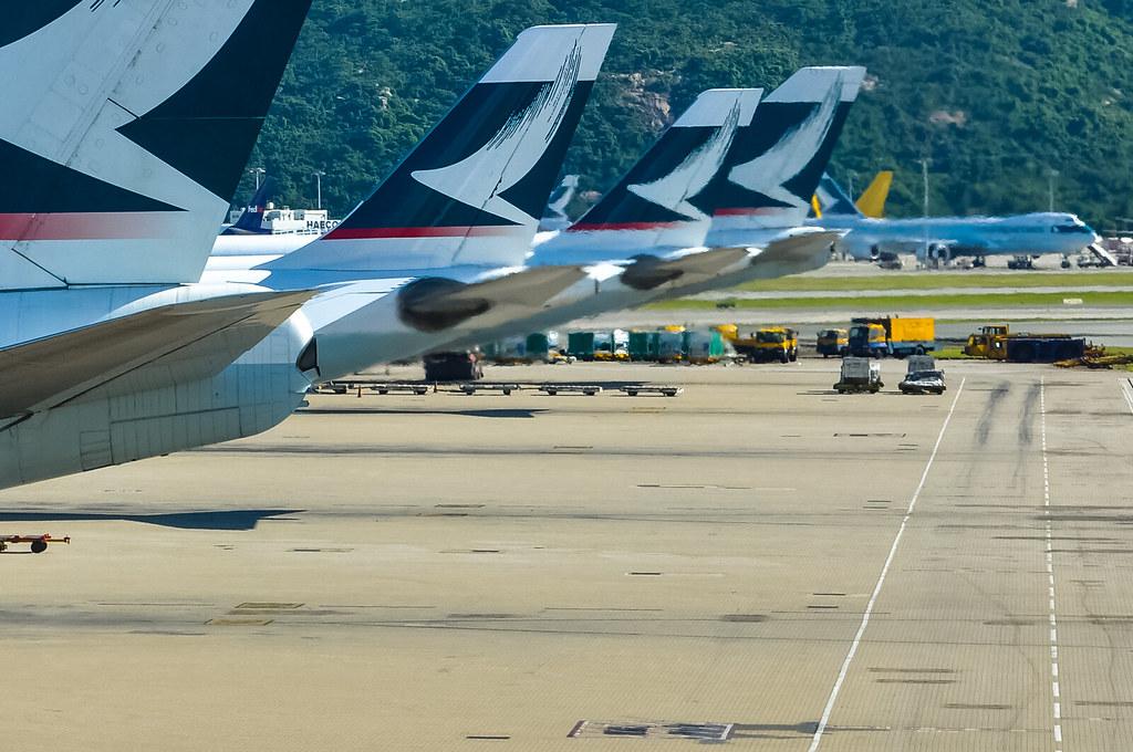 國泰航空 Cathay Pacific キャセイパシフィック航空 Boeing 747-400