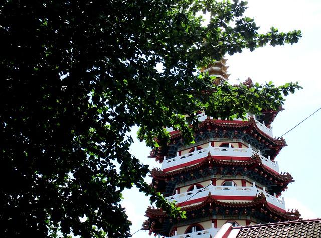 Sibu, pagoda