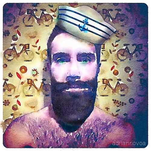 Sailor Beard Drawing Sailor Draw me