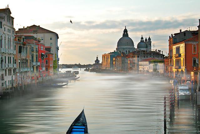 Foggy Venice Morning