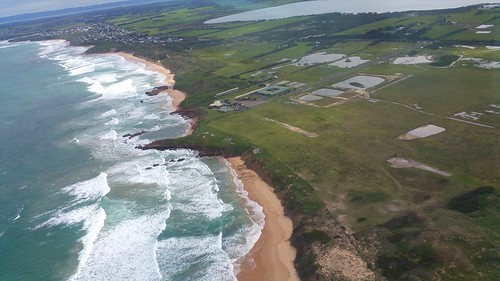 View from the helicopter, Phillip Island