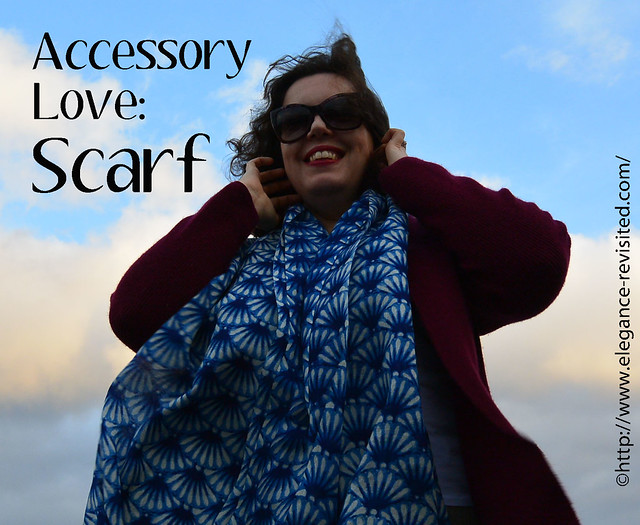 how to wear scarves