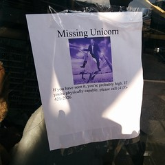 On Geary Blvd #sanfrancisco #unicorn