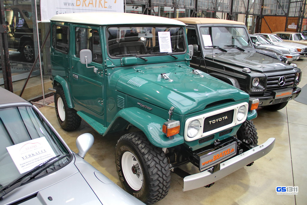 Toyota Land Cruiser Fj40 >> 1960 - 1984 Toyota Land Cruiser FJ40 | See more car pics on … | Flickr