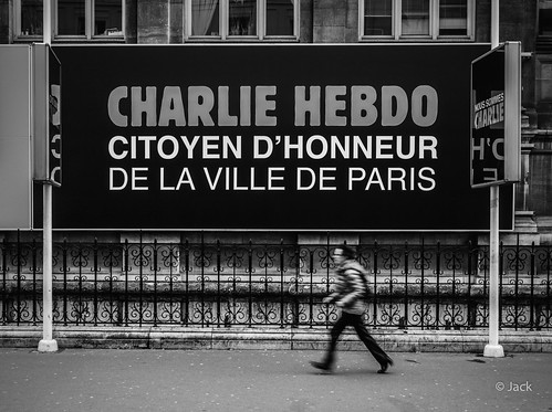 Hommage - Je suis Charlie #3