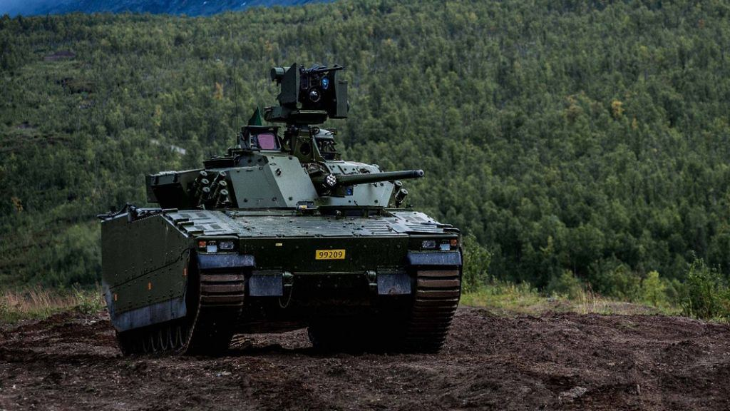 Future tank is no longer vulnerable black technology allows passengers to have x-ray vision