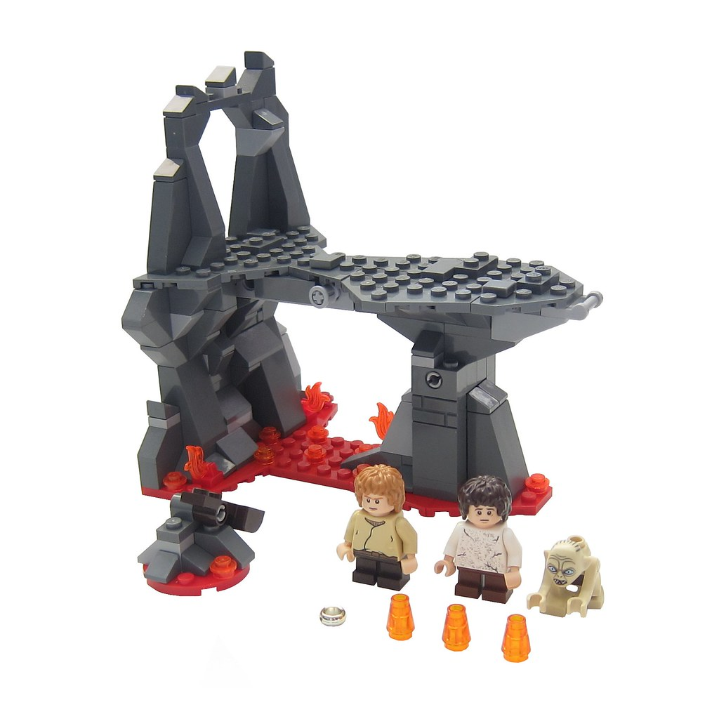 Lego Lord Of The Rings Mount Doom