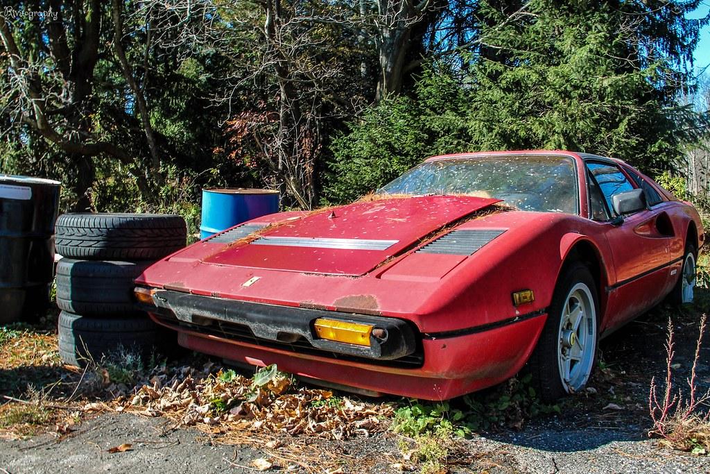 Abandoned Ferrari 308 Quattrovalvole   After visiting Tator'…   Flickr