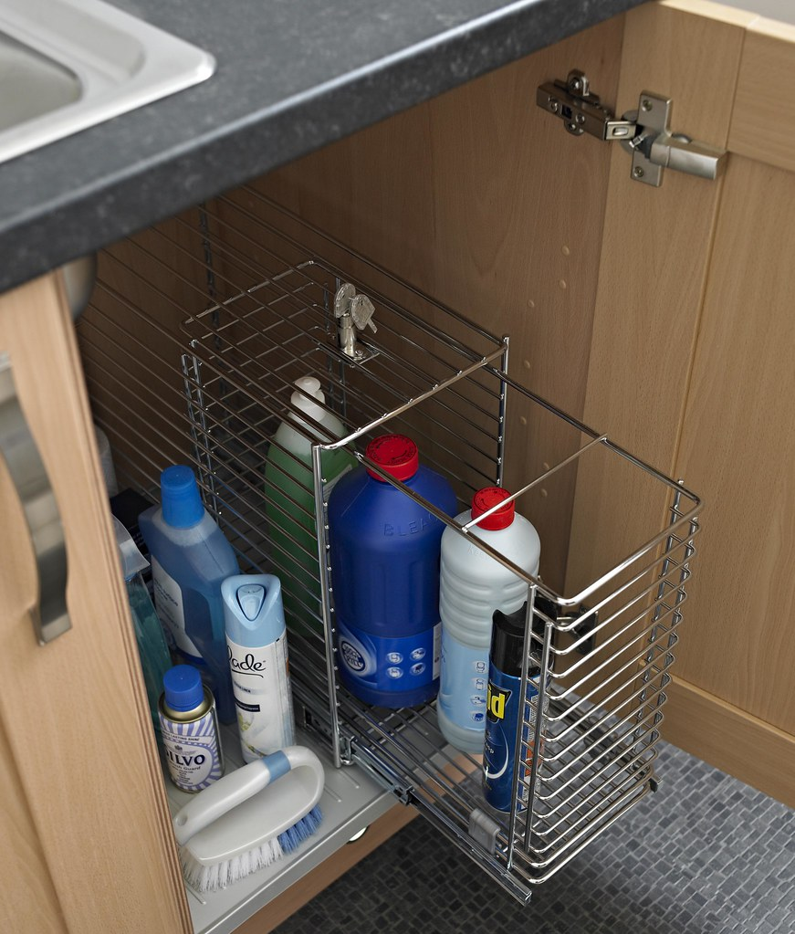 Kitchen Storage Under The Sink Pull Out Solutions Keep T