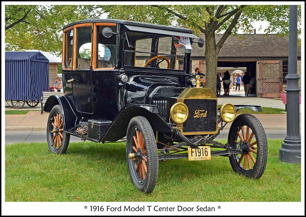 1916 Ford Model T Center Door Sedan | The September 6, 2014 … | Flickr