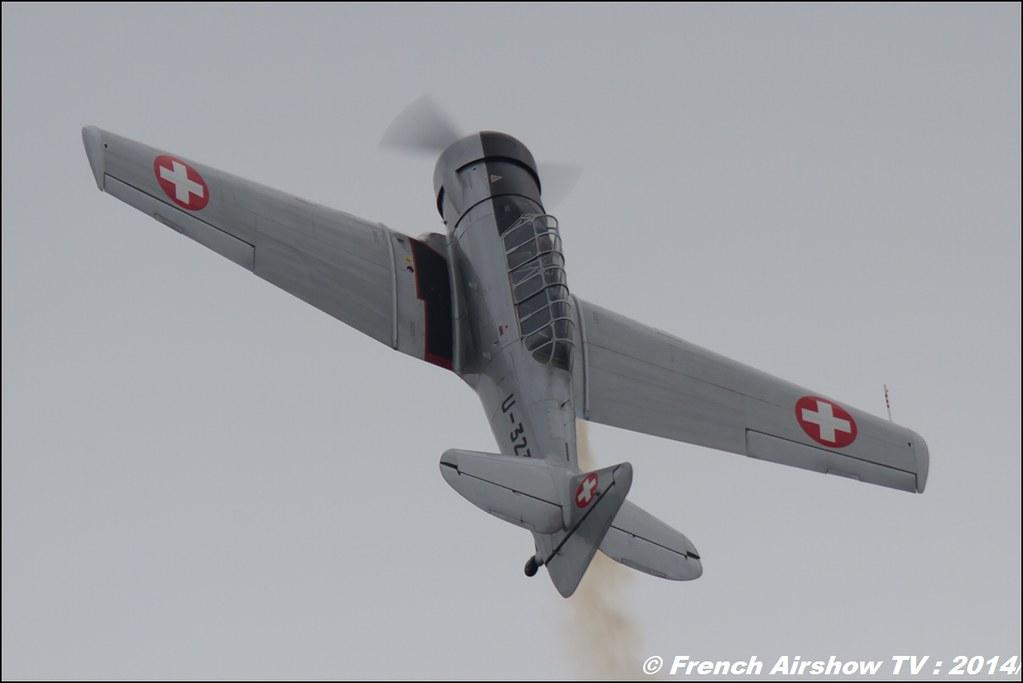 T-6 - U-323 - HB-RDN , AIR14 Payerne , suisse , weekend 1 , AIR14 airshow , meeting aerien 2014 , Airshow