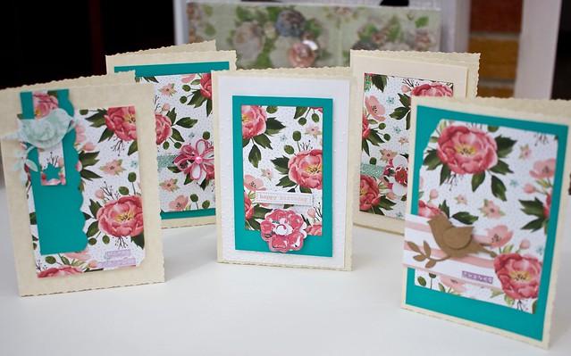 Stampin' Up Birthday Bouquet cards by StickerKitten
