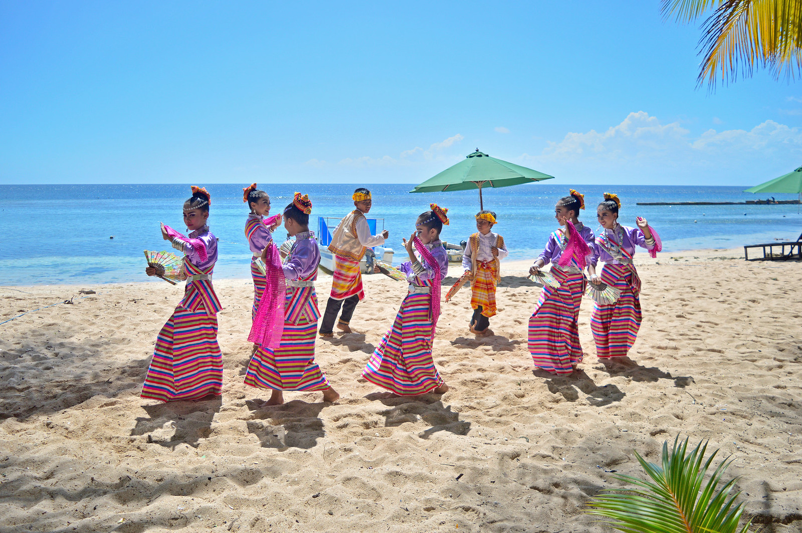 Traditional Dancers of Wakatobi (Cemara Beach).