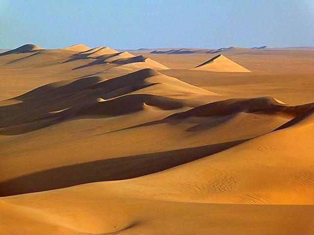 Desierto del Sáhara en Egipto