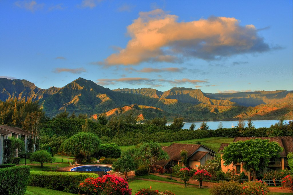 View off HBR 5202 Lanai | Hanalei Bay Resort 5202 Bamboo is \u2026 | Flickr