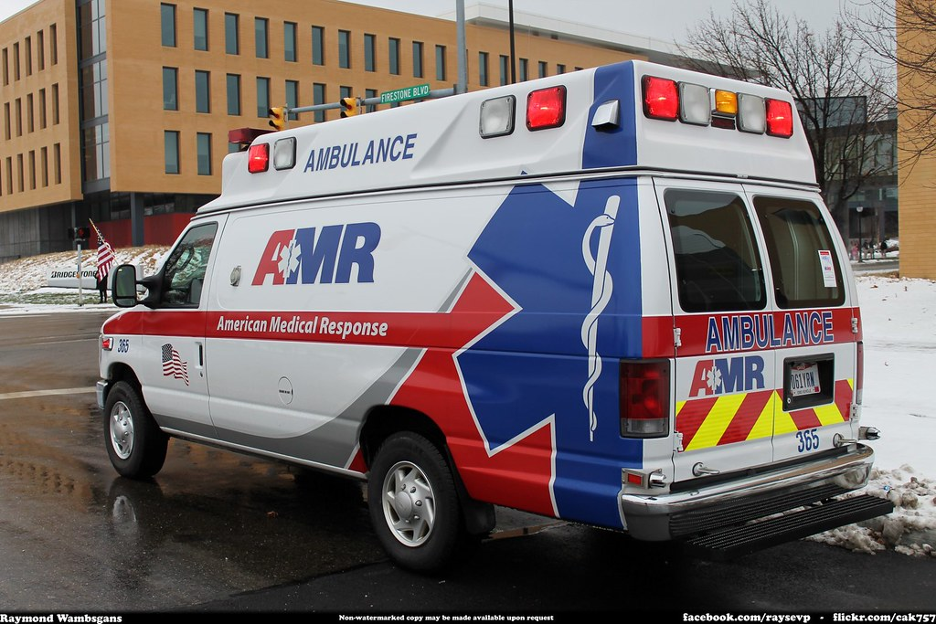 Amr American Medical Response Ford Ambulance Raymond
