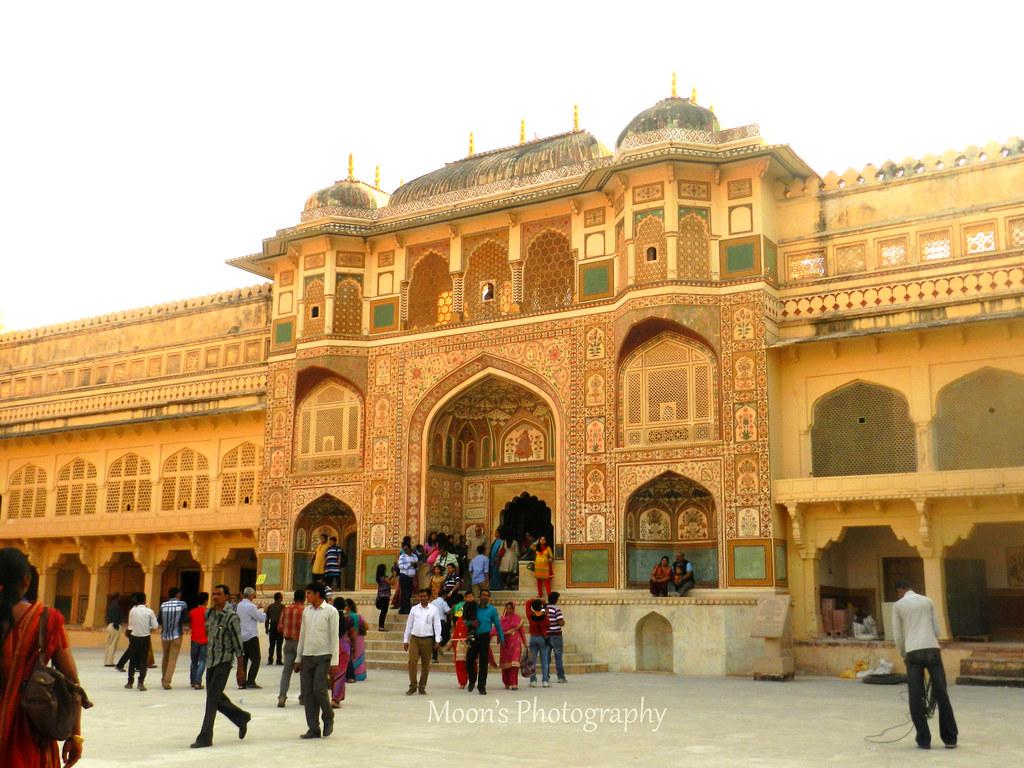 Amer fort palace, jaipur