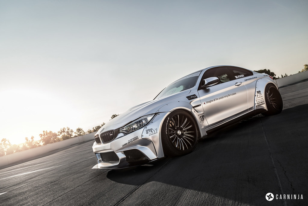 Liberty Walk Bmw M4 By Impressive Wrap And Ltmw Www