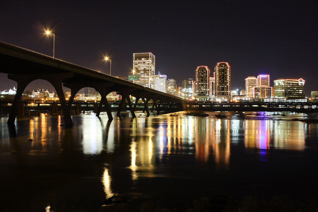 Richmond, VA Skyline in Lights | Will Fisher | Flickr