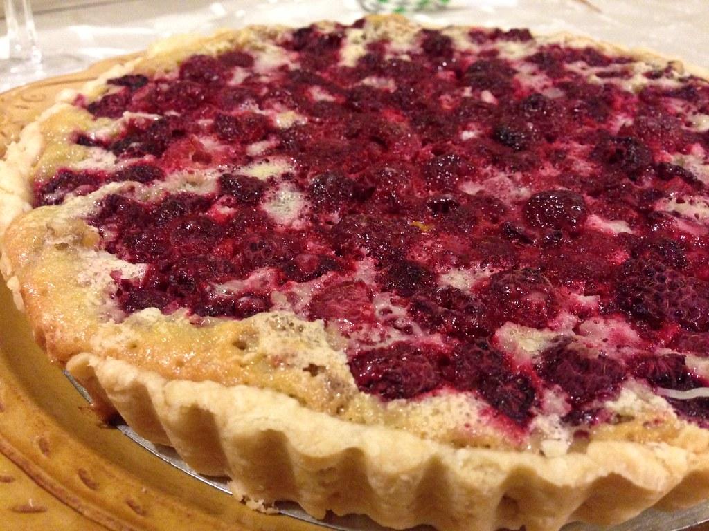 Raspberry Walnut Tart | Naoto Sato | Flickr