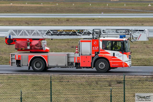 Flughafenfeuerwehr Frankfurt 61 30 Dla K 23 12 Mercedes