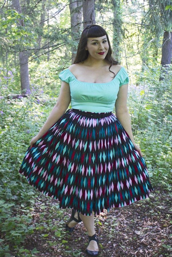 jenny skirt pinup girl clothing