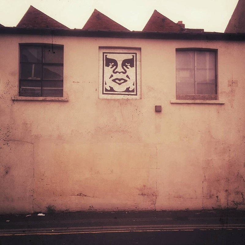 Face in the window #leeds #graffiti