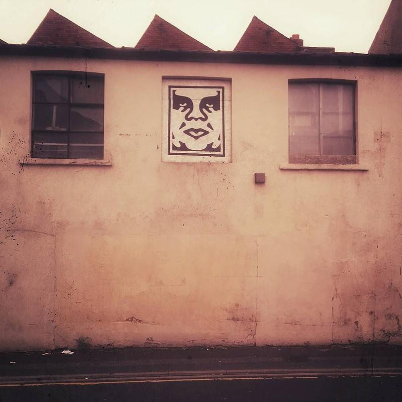 Face in the window #leeds #graffiti