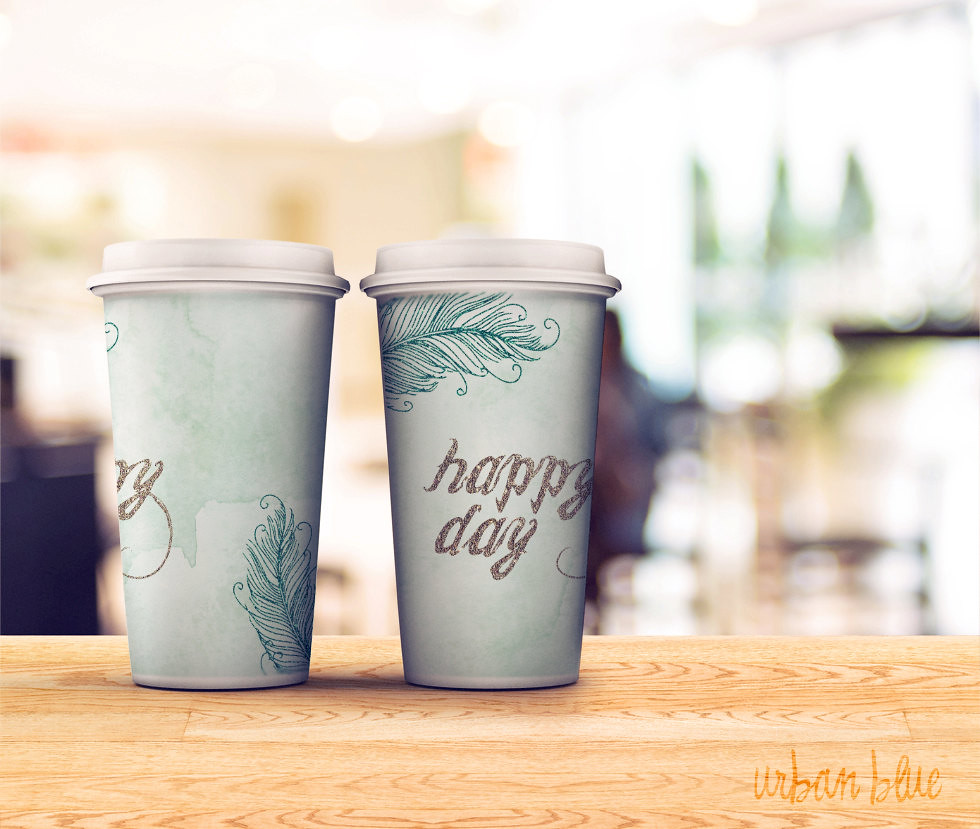 printable coffee sleeve paper cup cover template hot cup flickr. Black Bedroom Furniture Sets. Home Design Ideas