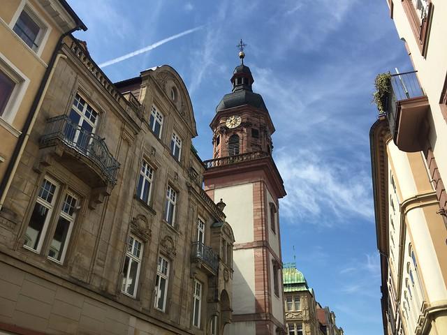 Calle principal de Heidelberg (Alemania)