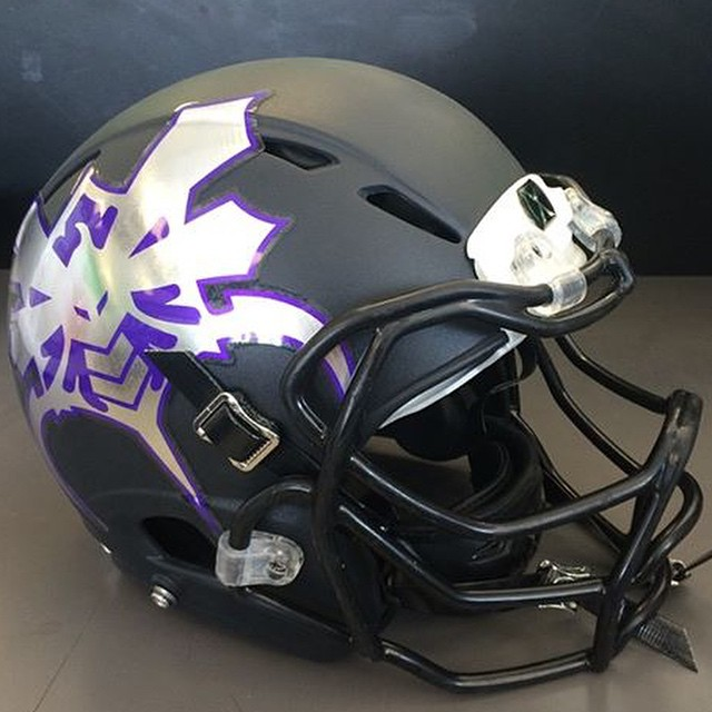 Football Helmet Decals Bumper : Check out the new chrome football helmet decals for br