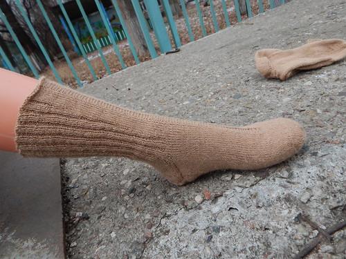 носок на ноге2