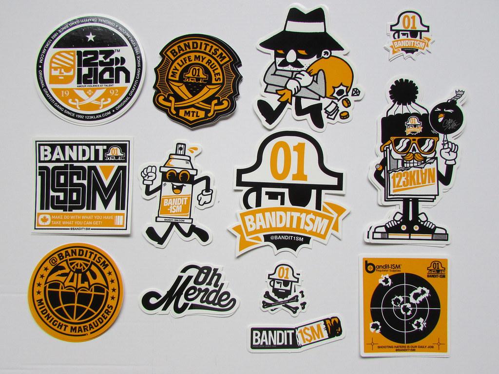 123klan Sticker Pack ROBERTO Flickr