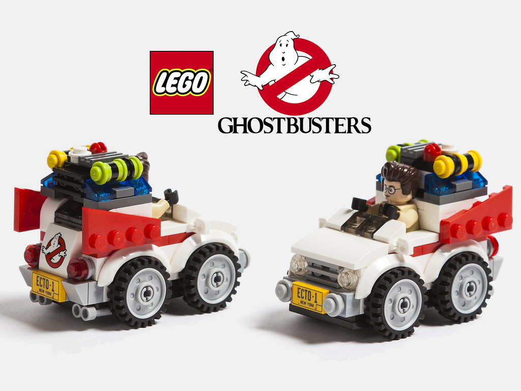 lego ghostbusters lego chibi ghostbusters ecto 1 with dr. Black Bedroom Furniture Sets. Home Design Ideas