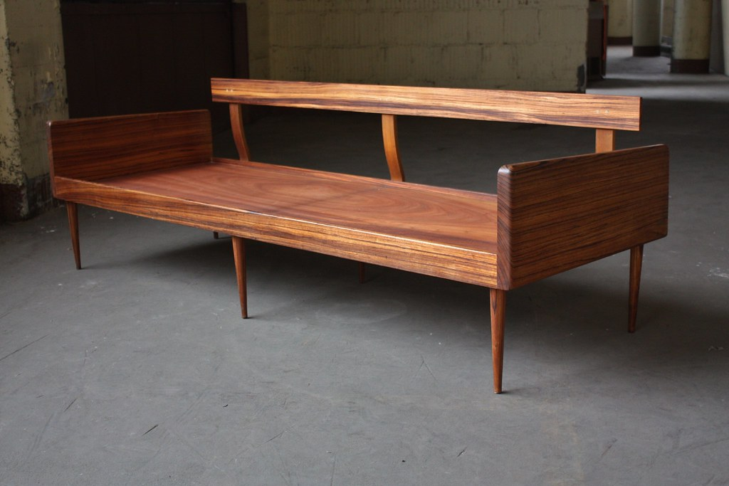 Smoldering Danish Midcentury Modern Solid Rosewood Platfor ...