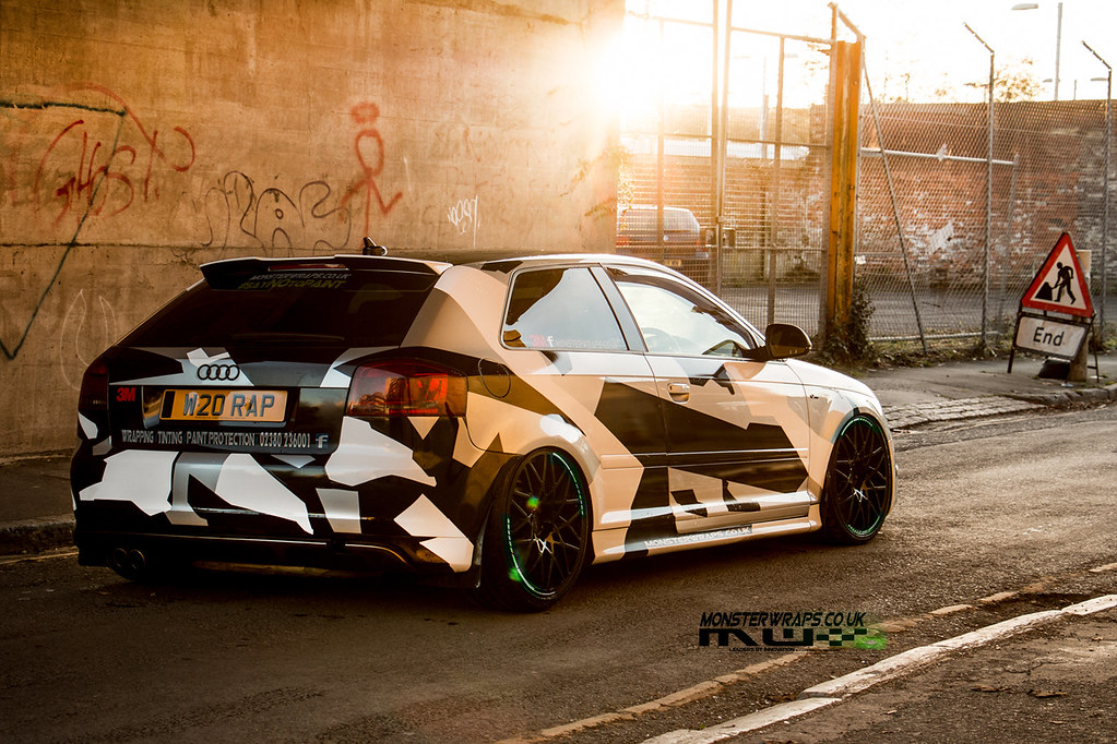Audi A3 Camo Design Air Suspension Camo Design And A