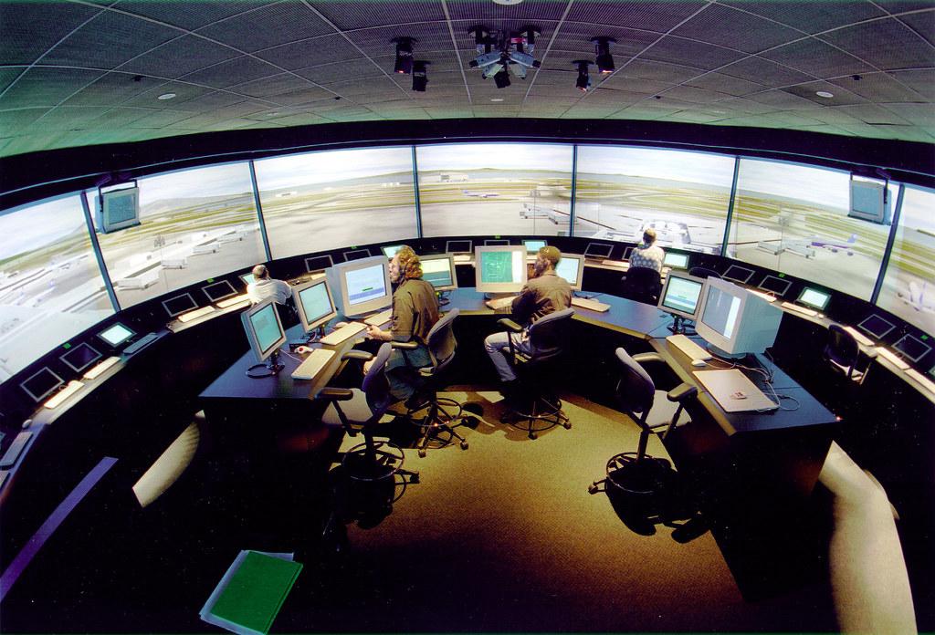 Nasa S Virtual Airport Nasa S Virtual Airport Tower Is