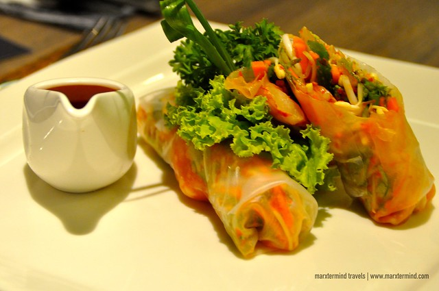 Fresh Spring Rolls Kitchen Meliwis H Sovereign Bali