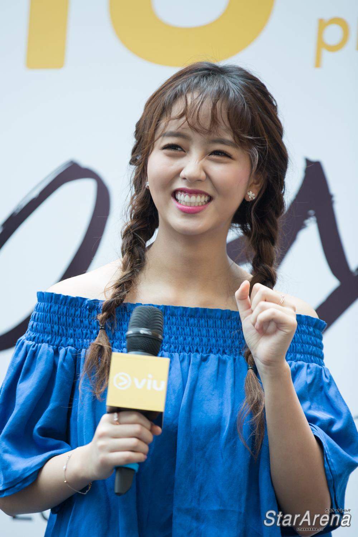 First ever Meet & Greet with Kim So Hyun in Singapore – StarArena