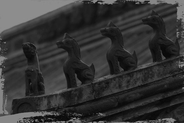 中国古建筑的房顶