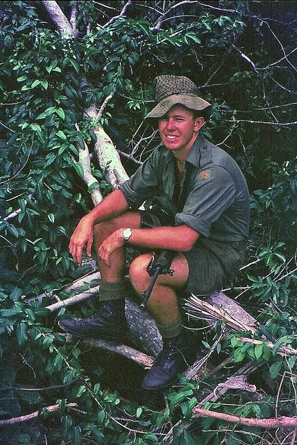 Signalman Paul Weaver, Australian Army, Vietnam. 1966-67