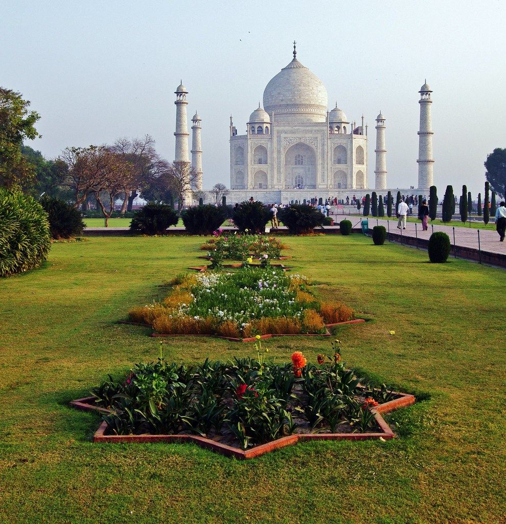 taj mahal and gardens the last place i visited in india wa flickr. Black Bedroom Furniture Sets. Home Design Ideas