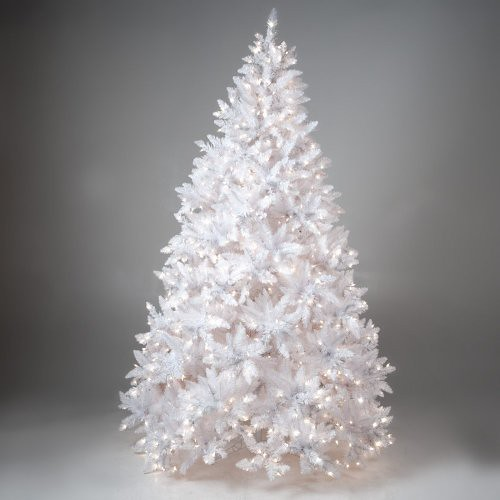 Finley home winter park full pre lit christmas tree clear